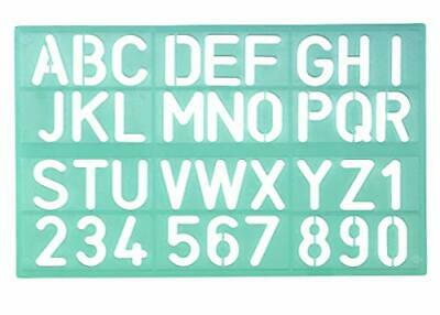 Linex 100412307 Lettering Stencil 8530 Lettering Height 30 mm Number Stencil Num