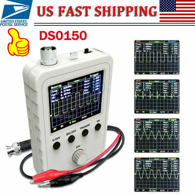 """Portable Assembled DSO - 150 2.4"""" inch LCD Display Digital Oscilloscope w/ Probe"""