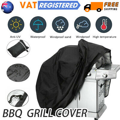 170CM Large BBQ Cover Heavy Duty Waterproof Gas Barbeque Grill Garden Protector