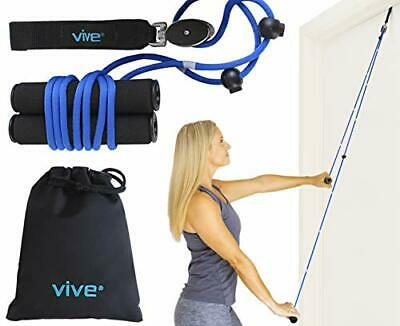 Vive Shoulder Pulley - Over Door Physiotherapy Rehab Rope Exerciser for Rotat...