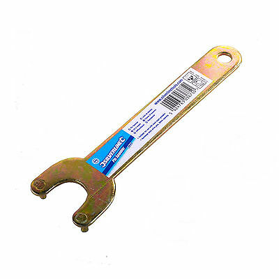 Silverline Pin Spanner Wrench 30mm Suitable for most angle grinders New