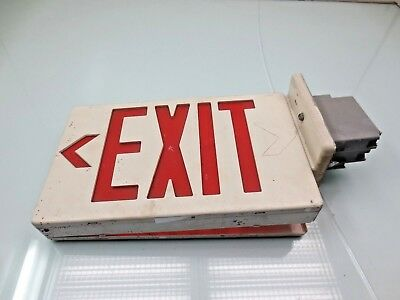 Emergency Lighting & Power Equip PAC-201R Exit Sign emergency