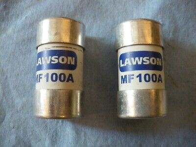 2 Lawson 100A BS88-3 House Service Cut-out Main Fuse  MF100A  100 Amp