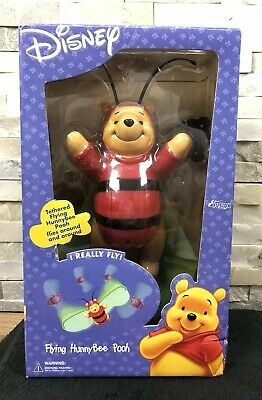 New Disney Flying Honey Bee Winnie The Pooh Flys Around The Room Figure Toy