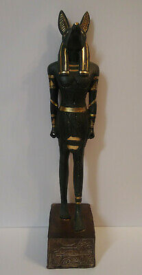Ancient Egyptian Anubis God of the Dead Statue