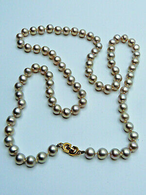 Vintage Christian DIOR Germany Perlenkette c.1960/70 Faux Pearl Necklace
