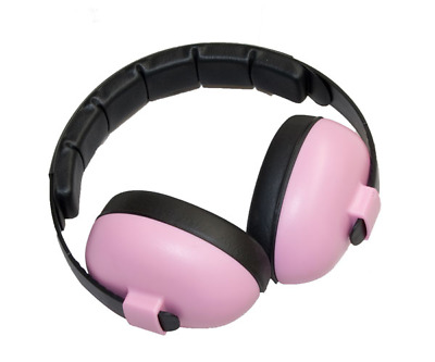 Pink Bluetooth Edition Baby Banz Bluetooth Earmuffs Hearing Protection 3months+
