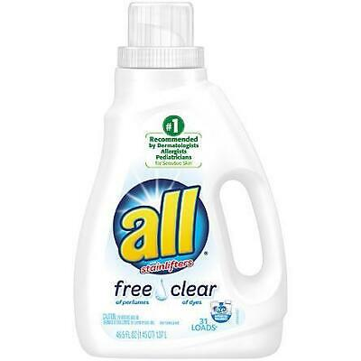 All Detergent, Free Clear,1.37 lt