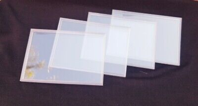 Royal Mint Original Clear Coin Plastic Perspex Cases (Lot Of 4 Clear Cases)