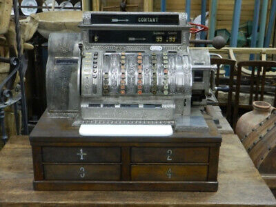 ANTIGUA CAJA REGISTRADORA NATIONAL Mod.562X-E ANTIQUE CASH REGISTER NATIONAL