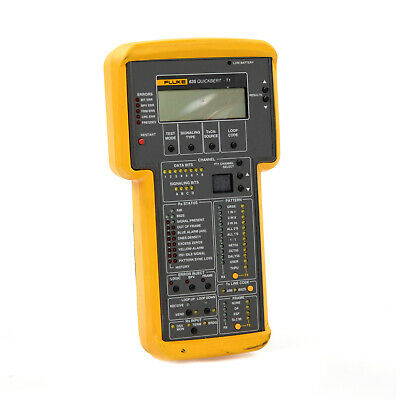 Fluke Networks Full Featured Handheld 635-1 QuickBERT-T1 Tester