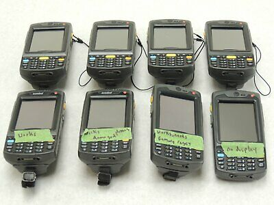 LOT x 8- Symbol MC7090 Mobile Computer POS Data Terminal Barcode Scanner *AS IS*