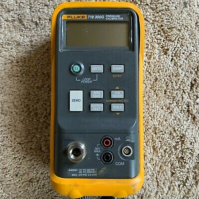 FLUKE 718-300G Pressure Calibrator 12 to 300 psi