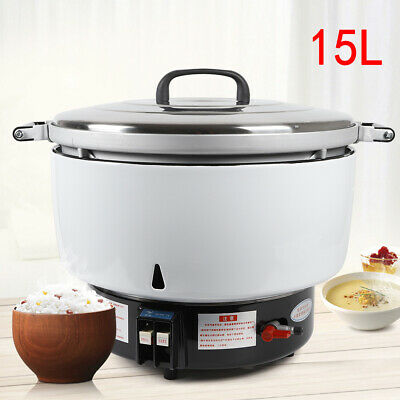 Commercial 15L Natural Gas Rice Cooker 9.5KW Restaurant Cooking Rice Cooker SALE