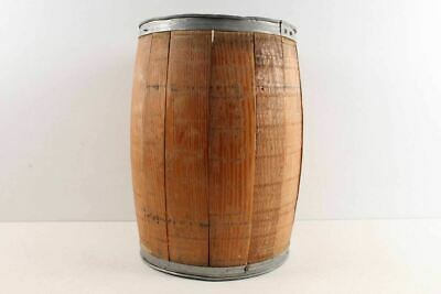 Old Country Primitive Hardware Store Wood Nail Keg