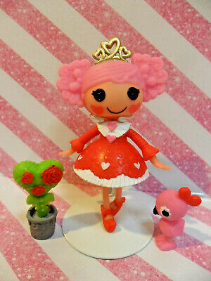 "1 NEW LALALOOPSY MINIS DOLL /""QUEENIE RED HEART/"" ~HTF~**CHECK OUT MY LISTINGS**"