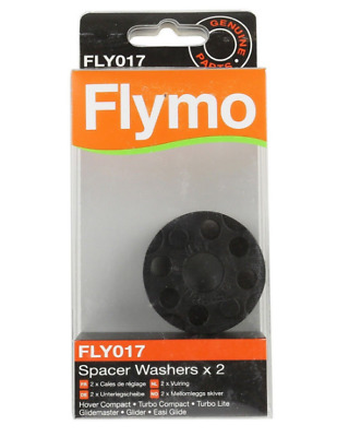 Flymo-Blade-Height-Washers-Spacers-FLY017-FL182- x2