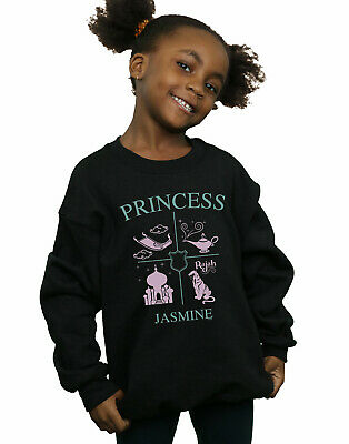Disney Princess Girls Princess Jasmine Sweatshirt