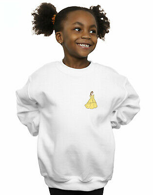 Disney Princess Girls Belle Chest Sweatshirt