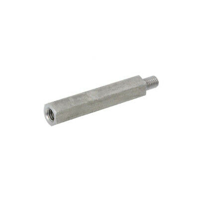 10X 249X50 Screwed spacer sleeve Int.thread: M6 50mm Ext.thread: M6 DREMEC