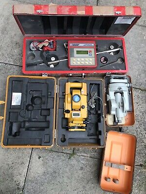 Topcon GTS 3B Total Station, Theodolite dahlta 010 A, Geotechnical Inclinometer