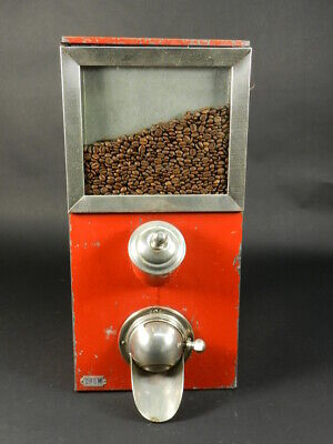 Antiguo Dispensador De Café En Grano Año 1950