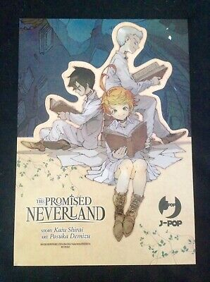 The Promised Neverland Poster/cartoncino Limited Manga J Pop Promised Neverland.