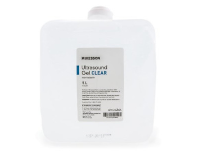 McKesson Ultrasound Gel Clear High viscosity (5 Liters)