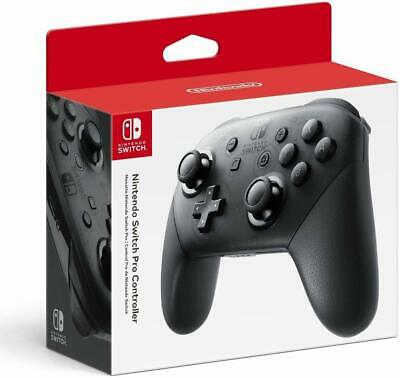 NEW Nintendo Switch Pro Controller - Official | Wireless | Black