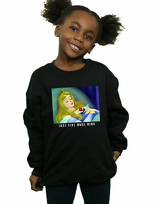 Disney Princess Girls Sleeping Beauty Five More Minutes Sweatshirt