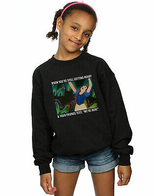Disney Princess Girls Snow White Still Getting Ready Sweatshirt