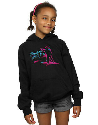 Michael Jackson Girls Neon Stripes Hoodie