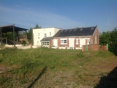 Brickbarn & Steel Shed + 0.5 Of An Acre Of Land For Sale.