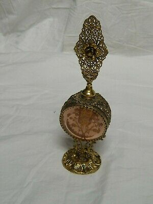 Gold Gilt Ormolu Filigree Ornate