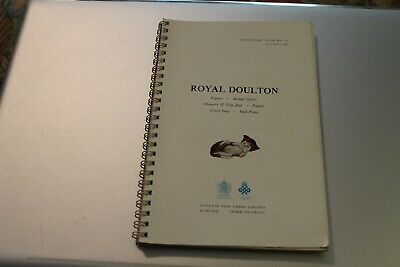 Vintage Royal Douton Figurines 1969 Not A Price Guide