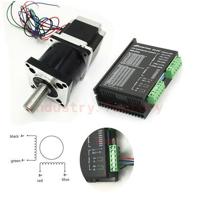 1.8Nm Stepper Motor Driver Kit +Nema23 Planetary Gear Reducer 20:1 4.2A 257oz-in
