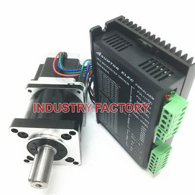 Planetary Gearbox Reducer + Nema23 Stepper Motor Driver L56mm 3A 2Phase CNC Kit