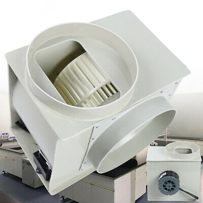 Centrifugal Blower Exhaust Fan For Medicine Cabinets Lab Fume Hood Anti-corrosio