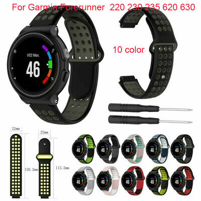 For Garmin Forerunner  220 230 235 620 630 Watch Band Sports Strap Bracelet HYA