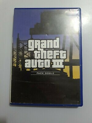 Grand Theft Auto 3 GTA 3 PlayStation 2  ps2 pal España SIN MANUAL caja aceptable