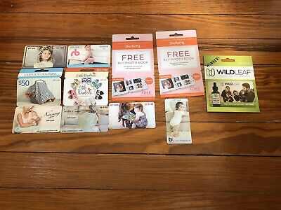 Baby Gift Cards Lot