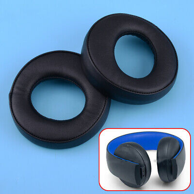 Replace Ear Pads Foam Cushion Fit For SONY Gold Wireless CECHYA-0083 PS3 PS4 7.1