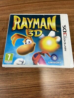 Nintendo 3DS game - Rayman 3D boxed complete Fast Free Postage