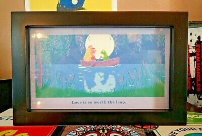 Hallmark Muppets Picture - Kermit and Piggy - Love is so worth the Leap *NEW*