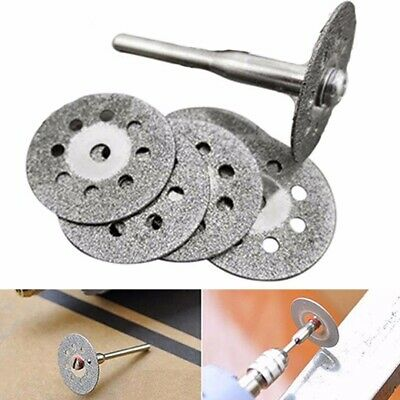 6pc 22mm Diamond Cutting Disc Wheel Kit For Good Rotary Drill Tool Accessory UK