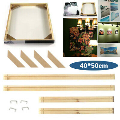 Professional Canvas Stretcher Bars Frames Wooden Strip Kit for oil Painting Arts