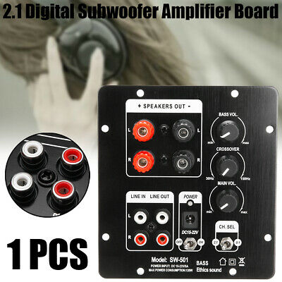 2.1 DC Digital Subwoofer SMD Integrated Amplifier Boards Independent 2CH Output