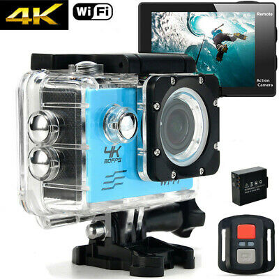 4K Ultra Full HD 1080P DVR Waterproof WiFi Sports Action Camera Travel Camcorder