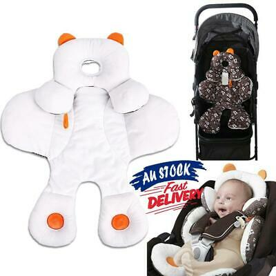 Baby Total Body Head Support Pillow Pram Car Seat Cover Cushion Padding