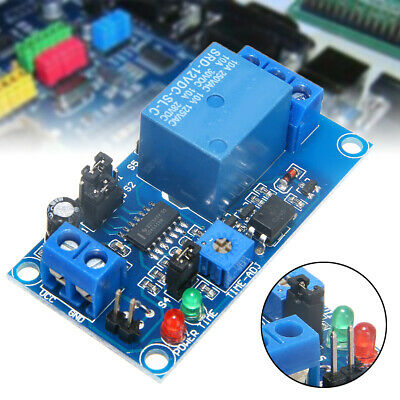 12V Delay Relay Normally Open Module Circuit Timer-Timing Board Switch Trigger